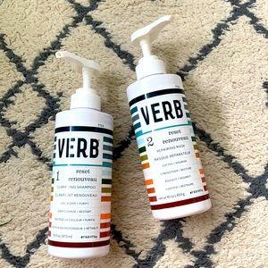Verb Reset Clarifying Shampoo and Repairing Mask